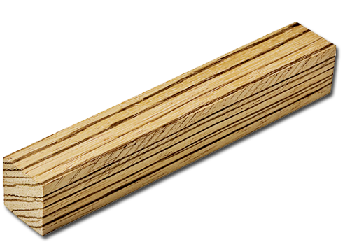 zebra wood artisan dice