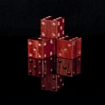 Blood Wood Wooden Six Sided Dice (d6)
