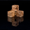 Burl Maple Wooden Six Sided Dice (d6)